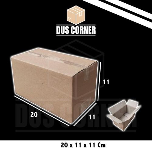 Foto Produk Kardus Box uk 20x11x11 cm dari Dus Corner