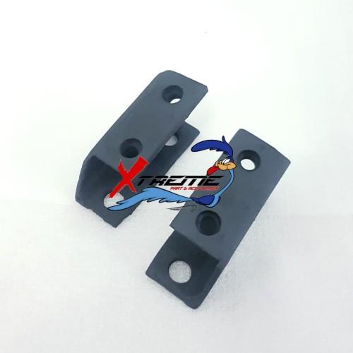 Foto Produk Breket Behel Besi Belakang Ninja RR Old SE Untuk Ninja R SS dari X3M Racing Shop