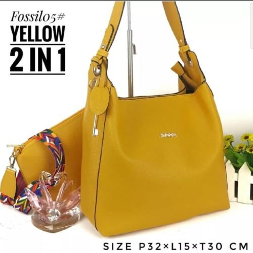 Foto Produk Tas wanita fosil nada - Kuning dari Ordinary bags