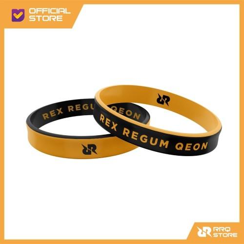 Foto Produk Gelang Emboss Black Orange dari Team RRQ Official