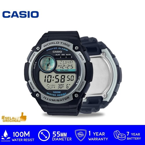Foto Produk Casio General CPA-100-1AVDE /CPA1001AVDE /CPA-100 ORIGINAL dari GrosirGshock