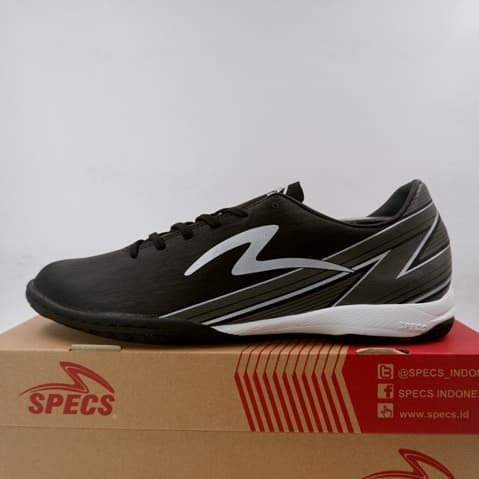 Foto Produk Sepatu Futsal Specs Acc Lightspeed 20 IN Black 401404 Original BNIB - 42 dari KING OF DRIBBLE
