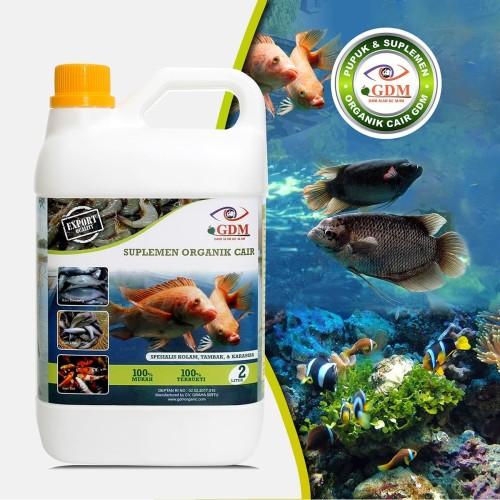Foto Produk GDM Suplemen Organik Cair Untuk Perikanan Ukuran 2 LIter dari GDM Official Store