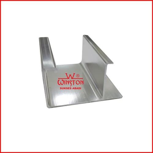 Foto Produk Frame Edging Handle Pintu Panel GP 30 Alumunium Chrome GP30 dari WINSTON-OK OFFICIAL STORE