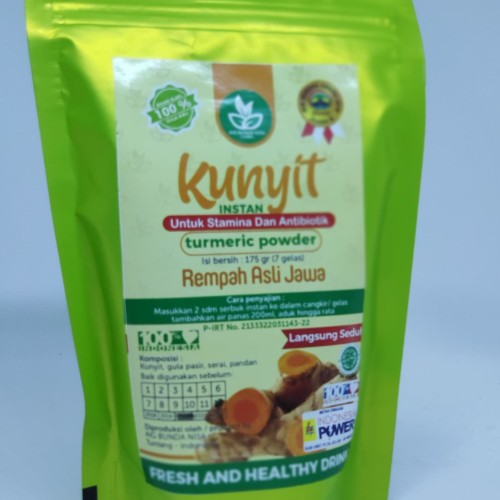 Foto Produk Herbal Kunyit Temulawak AIG Bunda Nisa - Kunyit dari warungserasi