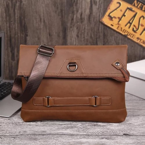 Foto Produk Tas Selempang Pria | Clutch | Handbag Kulit dari PITUDUS
