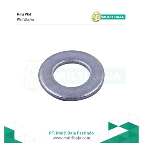 Foto Produk SUS 304 Ring Plat Lebar M6 x 25 mm x 2 mm ( Stainless Steel ) dari Multi Baja Fasteners