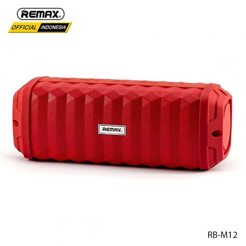 Foto Produk REMAX Outdoor waterproof Bluetooth Speaker RB-M12 - RED dari Remax Indonesia Official