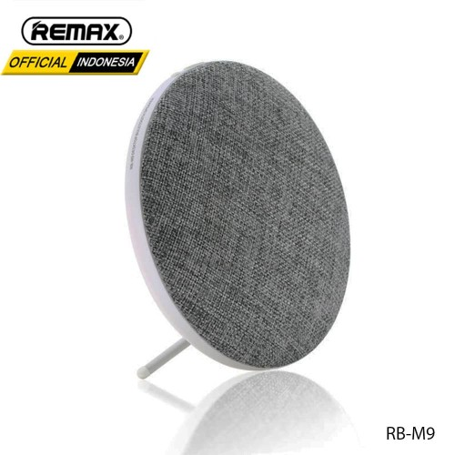 Foto Produk REMAX Fabric Ultra Thin Portable Bluetooth Speaker RB-M9 POSTAL - BLACK dari Remax Indonesia Official