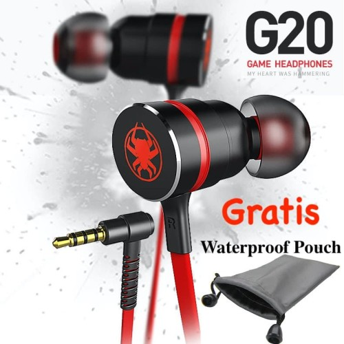 Foto Produk New Upgrade Plextone G20 Headset Gaming Game Bass Earphone - Hijau dari Onebest Choice