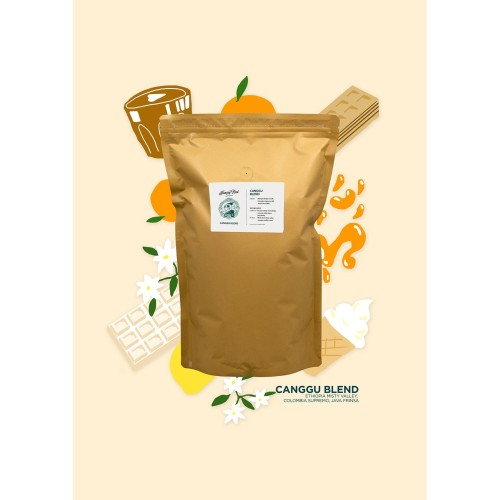 Foto Produk Canggu Blend 1KG dari Hungry Bird Coffee