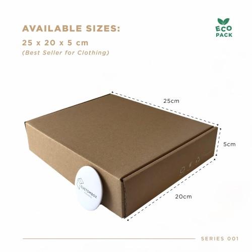 Foto Produk Box Packaging (25.0x20.0x5.0 cm) Kardus Premium Ready Stock dari Custombox.id