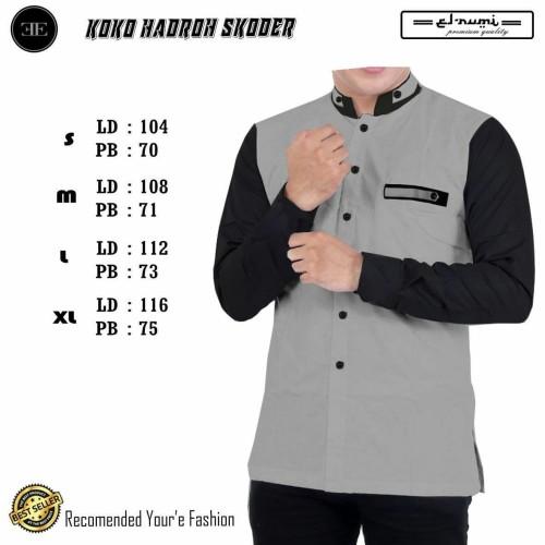 Foto Produk baju muslim pria/remaja/modern/koko tren/koko azzahir/koko gus azzmi - Sesuai Gambar, XL dari fashion muslim RA
