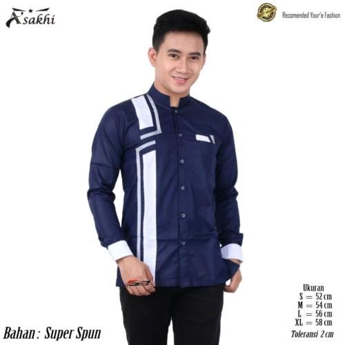 Foto Produk Baju Koko/Baju Pria Lengan Panjang/Baju Santri/Seragam Hadroh/Terbaru - Sesuai Gambar, XL dari fashion muslim RA