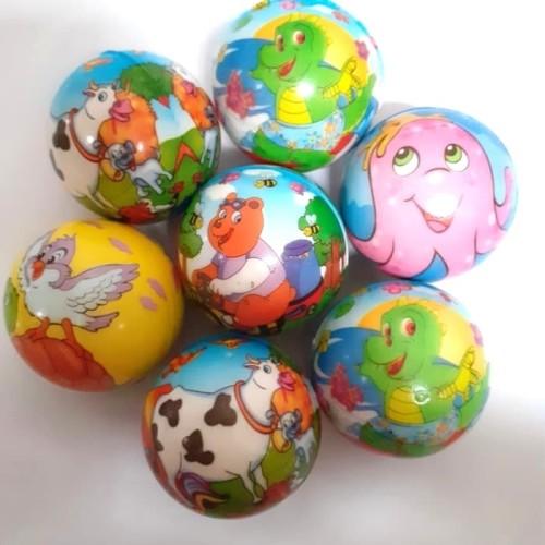 Foto Produk Mainan Bola Busa Karakter - Squezee Toys Murah dari dicjono