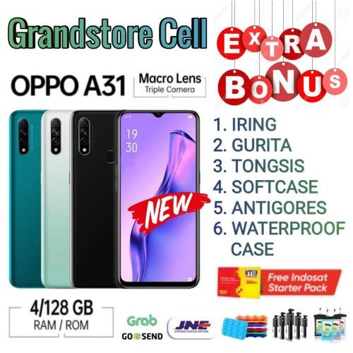 Foto Produk OPPO A31 2020 RAM 4/128 GB GARANSI RESMI OPPO INDONESIA - Demo Tanpa Dus dari Grandstore cell