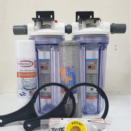 """Foto Produk Paket Filter """"AIRKU II"""" -Sedimen+CTO - Drat 3per4 dari Filterairku"""
