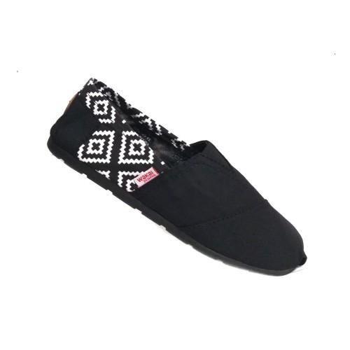 Foto Produk sepatu unisex wakai kombinasi grade ori - Tribal Batik, 36 dari toko alqorib