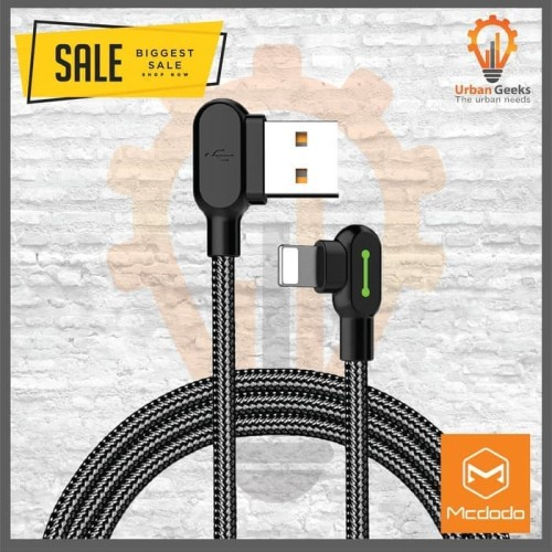 Foto Produk MCDODO Lightning charger for iphone apple fast charging Gaming 1.2m - Short dari Urban Geeks