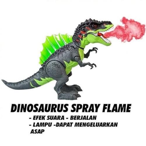 Foto Produk MAINAN DINO TREX DINOSAURUS T-REX SPRAY FLAME BISA KELUAR ASAP 3330 dari Home Online Toys