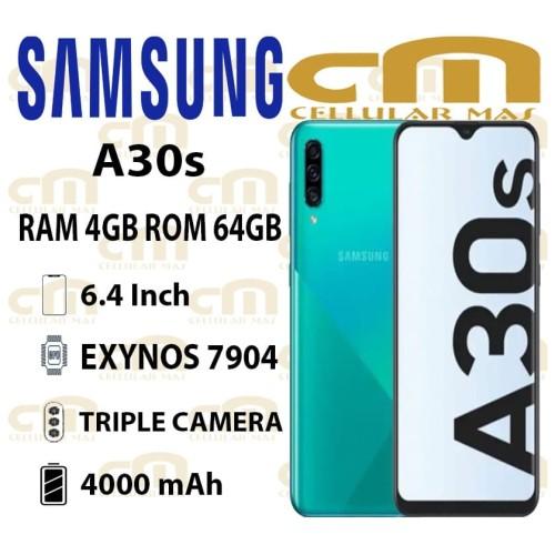 Foto Produk Samsung Galaxy A30s 4/64 RAM 4GB ROM 64GB GARANSI RESMI SEIN - Putih dari Cellular Mas