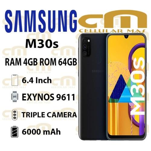 Foto Produk Samsung Galaxy M30s 4/64 RAM 4GB ROM 64GB GARANSI RESMI SEIN - Biru dari Cellular Mas