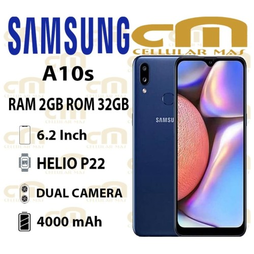 Foto Produk Samsung Galaxy A10s 2/32 RAM 2GB ROM 32GB GARANSI RESMI SEIN - Hijau dari Cellular Mas