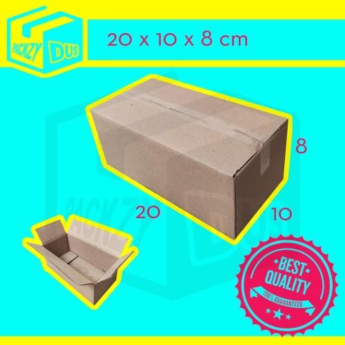 Foto Produk KARDUS BOX UK. 20x10x8 cm dari packzy dus