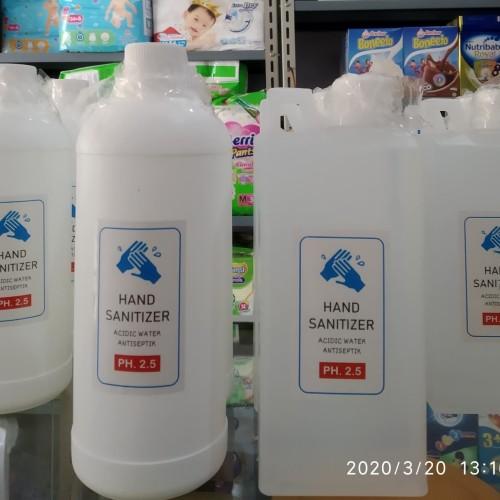Foto Produk hand sanitizer strong acid Refill 1 liter dari pangkalan susu murah