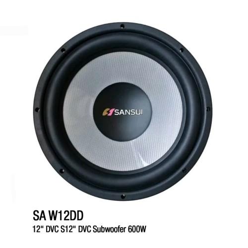 Foto Produk Subwoofer Pasif Sansui SA-W12DD (12 inch) Audio Mobil dari Sansui Car Audio