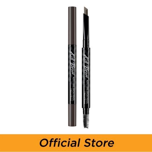 Foto Produk Ciio Kill Brow Auto Hard Brow Pencil 01 Natural Brown dari Clio Professional