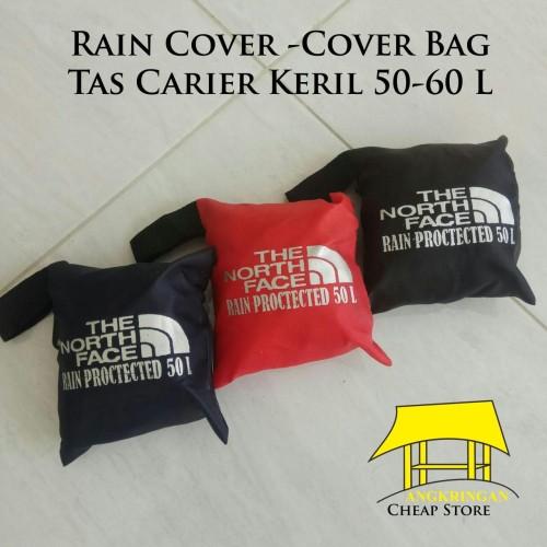 Foto Produk Rain Cover | Cover Bag | Jas Hujan Tas Keril Carier Gunung 50 - 60 L dari Distro Aksesories