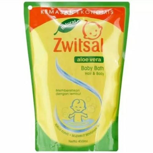 Foto Produk Sampo Zwitsal baby bath 2 in 1 reffil 450ml dari Louis Online Store