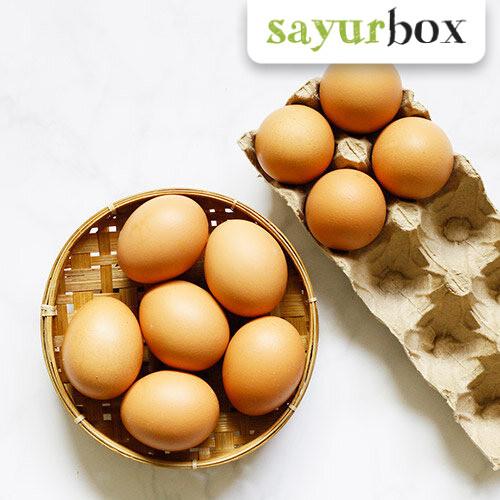 Foto Produk Telur Ayam Negeri 10 pcs Sayurbox dari Sayurbox