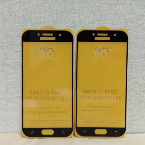 Foto Produk Tampered Glass TG Anti Gores 9D Full Layar Samsung Galaxy A5 2017 A520 dari maman mobile