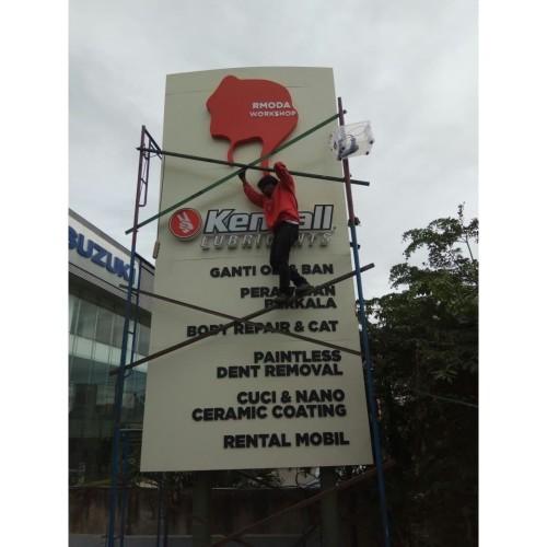 Foto Produk Jasa pembuatan Totem/Pylon Sign dari Huruf timbul Jkt