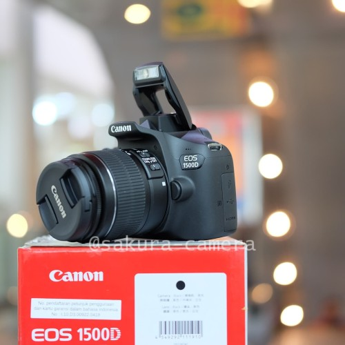 Foto Produk Canon eos 1500d kit 18-55mm wifi dari SAKURA CAMERA
