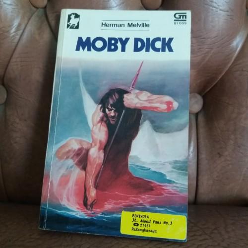 Foto Produk Novel Moby Dick oleh Herman Melville dari Kenji Hatboy Store