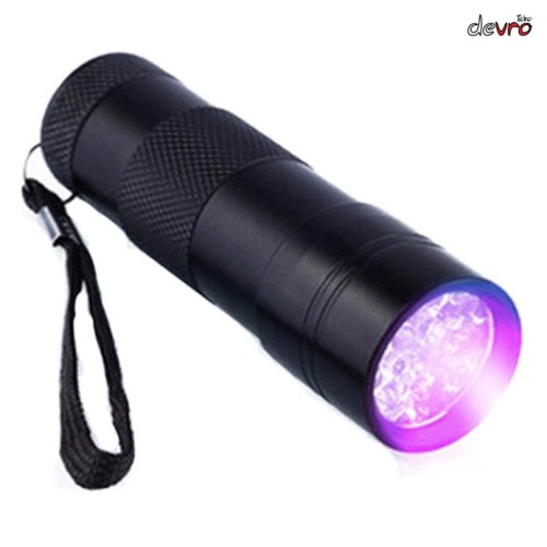 Foto Produk Senter LED Mini Ultraviolet UV 400nm - TaffLED UV-395 - 9 LED dari nusantarajaya1
