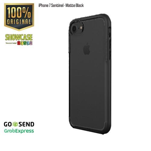 Foto Produk Patchworks iPhone 7 Sentinel Matte Black Anti Crack Spigen Military dari showcasefever