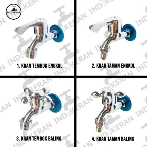 Foto Produk INDOKERAN - Kran Air - 1/2 Inch - High Quality - Taman Baling dari INDOKERAN