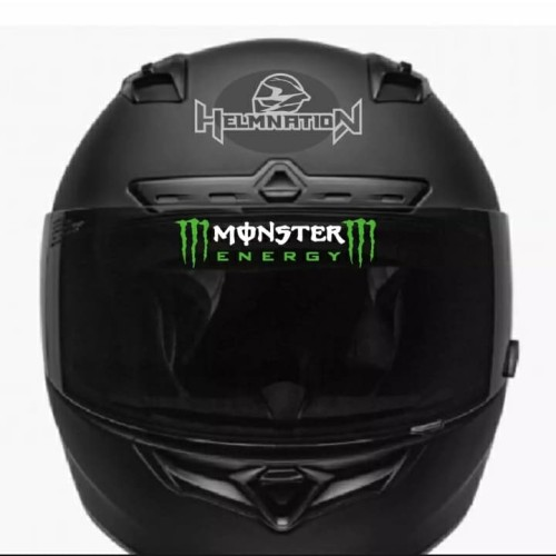 Foto Produk Cutting Stiker Visor Helm Monster Energy dari @helm_nation