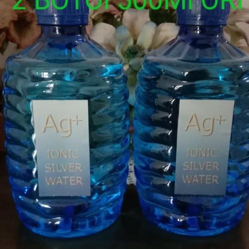 Foto Produk Ionic Silver Water Ag+ (2 botol)Colloidal Silver Air Perak Anti Virus dari Ionic Silver Water Factory