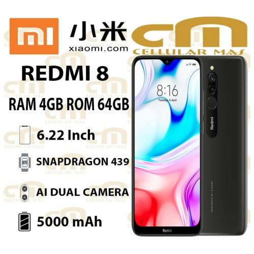 Foto Produk Xiaomi Redmi 8 4/64 RAM 4GB ROM 64GB GARANSI RESMI - Merah dari Cellular Mas