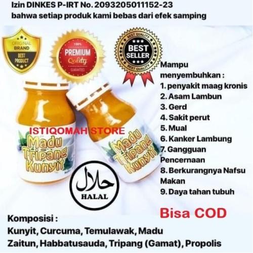 Foto Produk MADU TRIPANG Obat Maag Kronis, Asam Lambung, GERD, Sakit Perut, Mual dari Istiqomah-Store