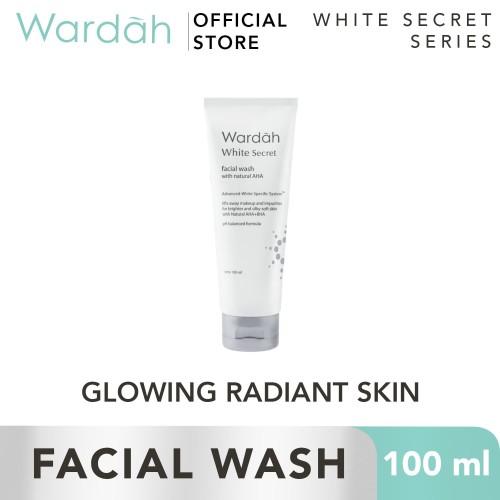 Foto Produk Wardah - White Secret Facial Wash with AHA 100 ml dari Wardah Official