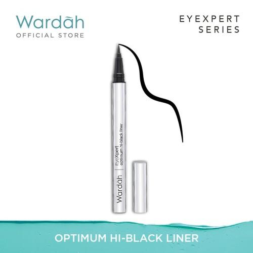 Foto Produk Wardah - EyeXpert Optimum Hi-Black Liner 1 g dari Wardah Official