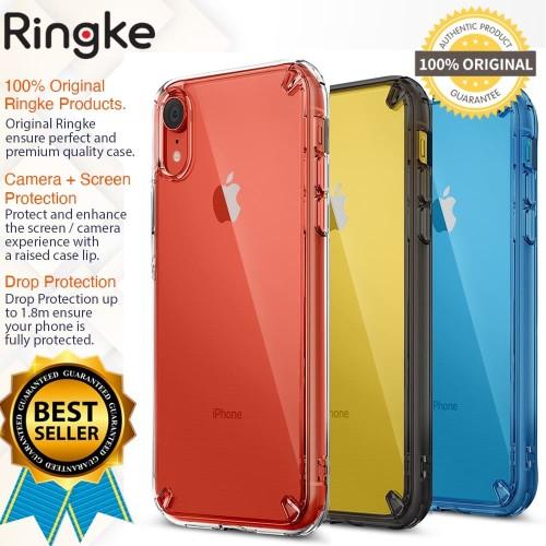 Foto Produk Case iPhone Xr - Original Ringke Fusion Kit - Clear dari GadgetLifestyleShop
