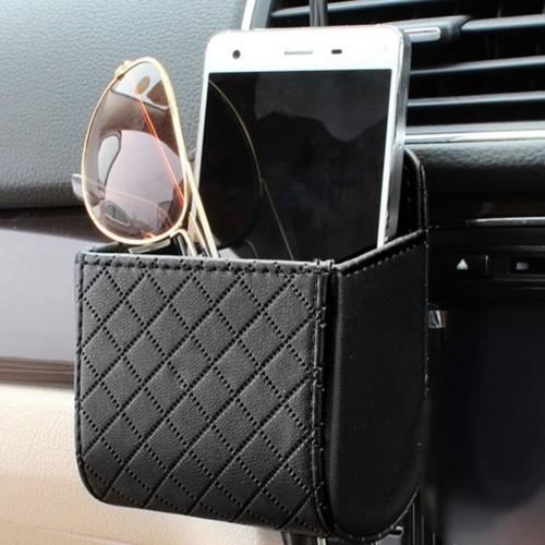 Foto Produk Car Air Vent Pocket Holder Kantong Serbaguna Organizer Mobil dari Red Bow Store