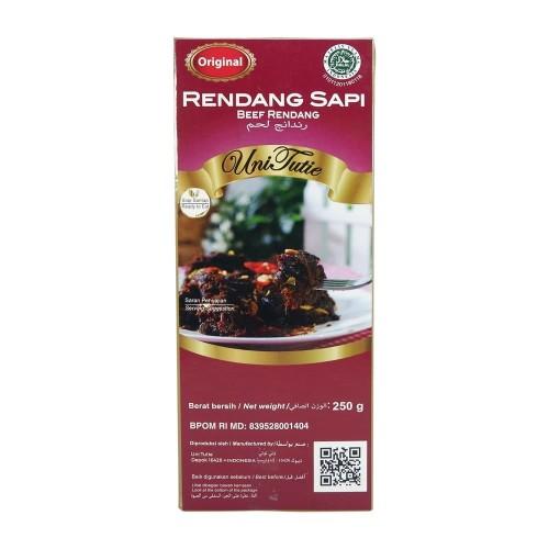 Foto Produk Rendang UniTutie Daging Sapi Asli - 250gr dari Indonesia Mall